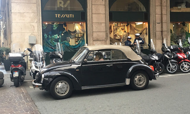 торговые улицы Генуи