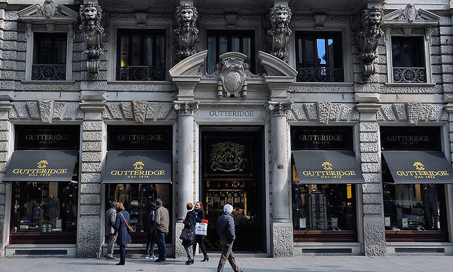 Торговые улицы Милана