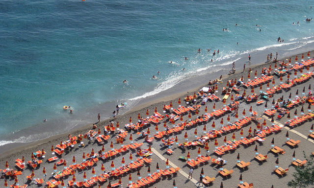 Пляжи Позитано