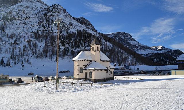 Зимняя Валь-ди-Фасса