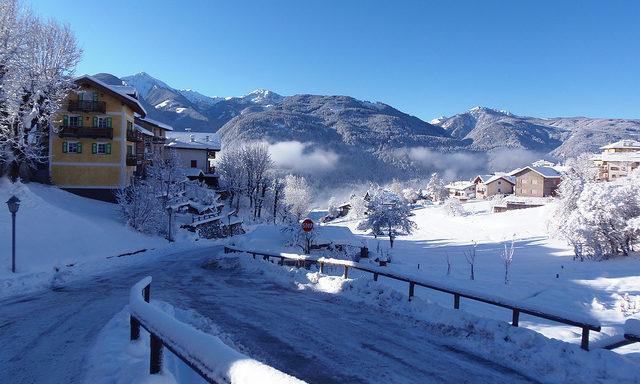 Зимние пейзажи курорта