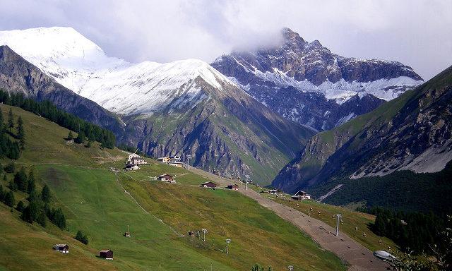 Горы в Ливиньо