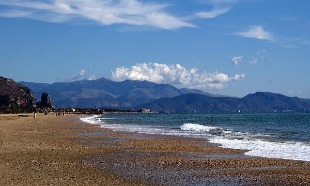 Пляжи Террачины