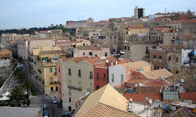 Кальяри, старый город