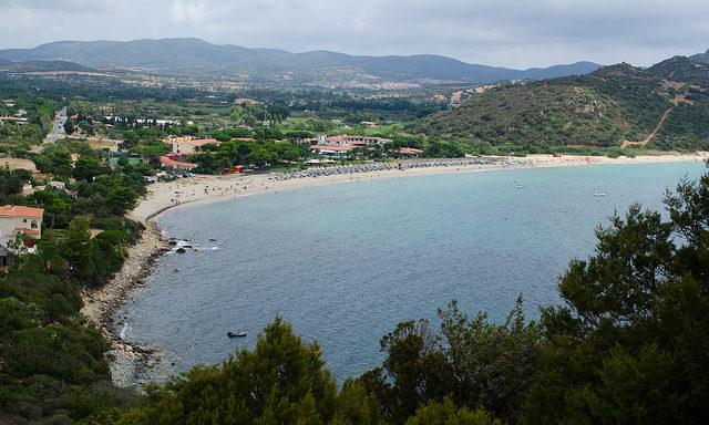 Пляжи Кальяри