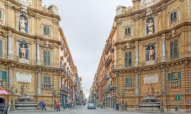 Исторические улочки Палермо