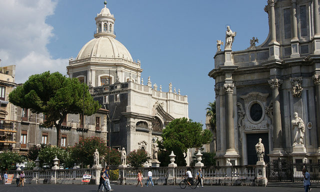 Главная площадь Катании