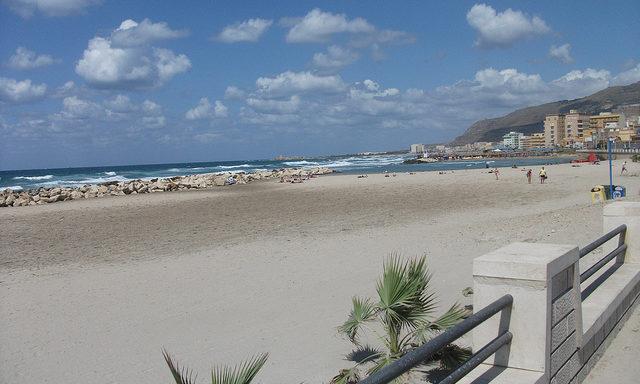 Пляж в черте Трапани