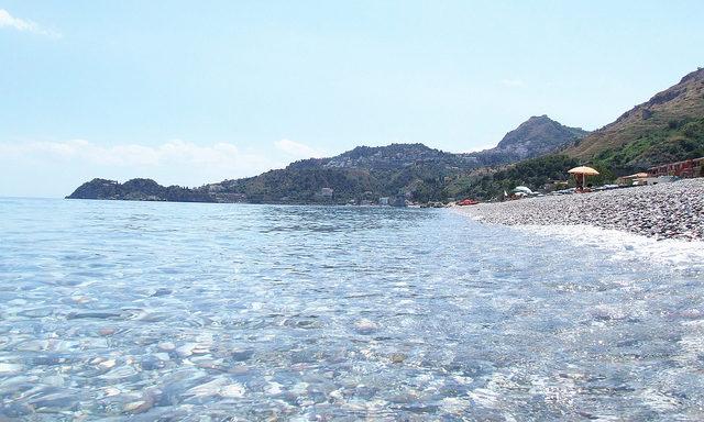 Ионическое море у берегов Джардини Наксос