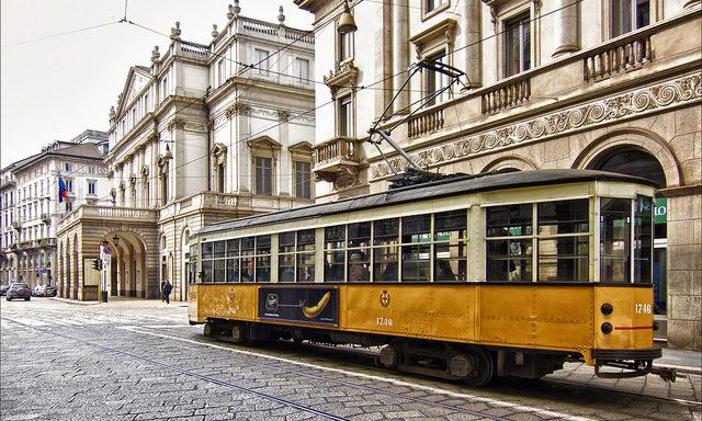 Общественный транспорт Милана