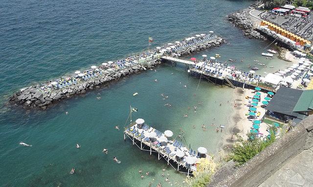 Пирсы для купания в Сорренто
