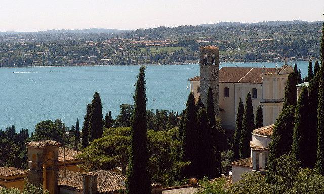Гардоне-Ривьера, вид на озеро