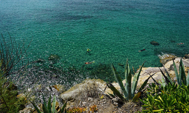 Море у берегов Сан-Винченцо