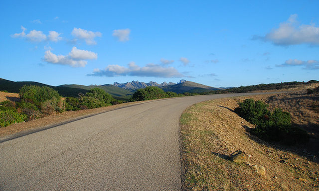 Дороги на Сардинии