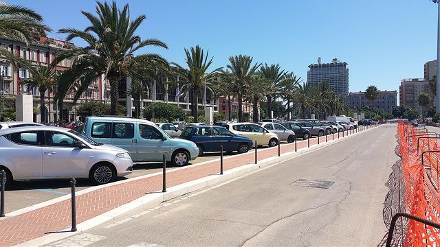 Парковки в городах Сардинии