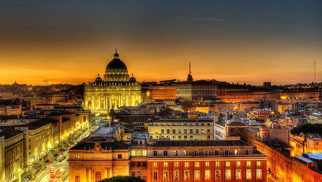 Ночной Рим