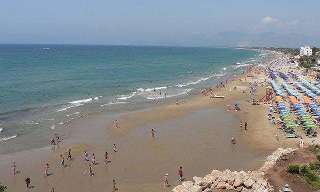 Пляжи Сперлонги