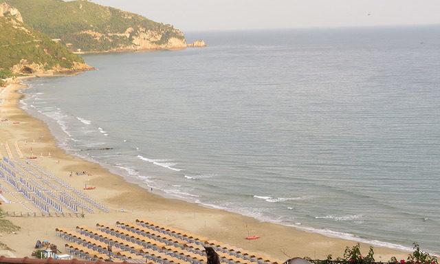 Вид на побережье, Сперлонга