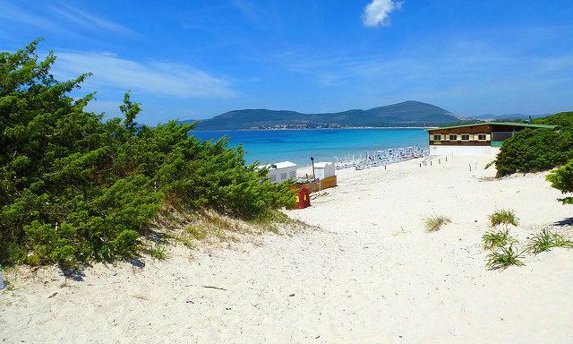 Пляжи Альгеро
