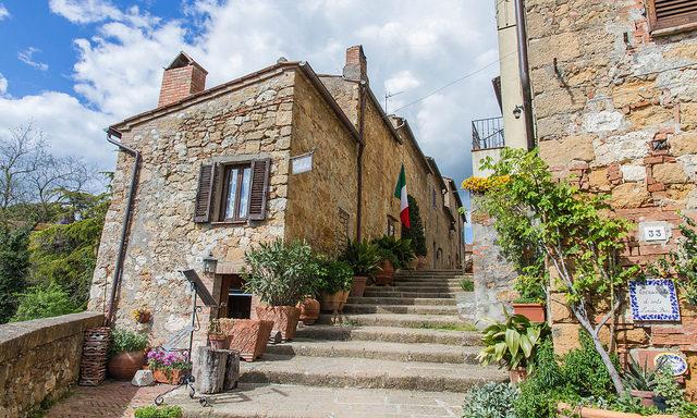 Старинная лестница, Пьенца