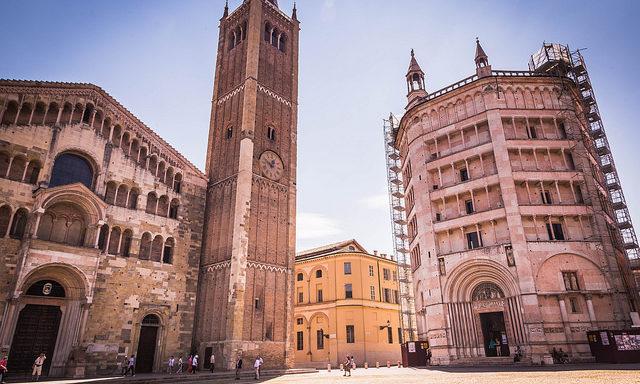 Исторический центр города, Парма