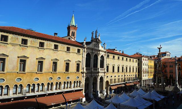 Цветные домики Виченцы