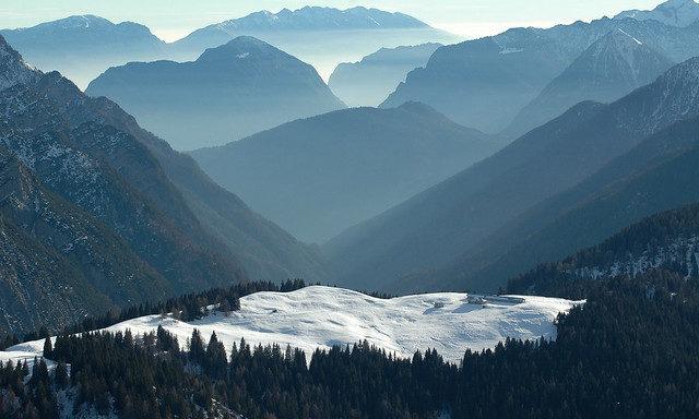 Зимняя панорама Пинцоло