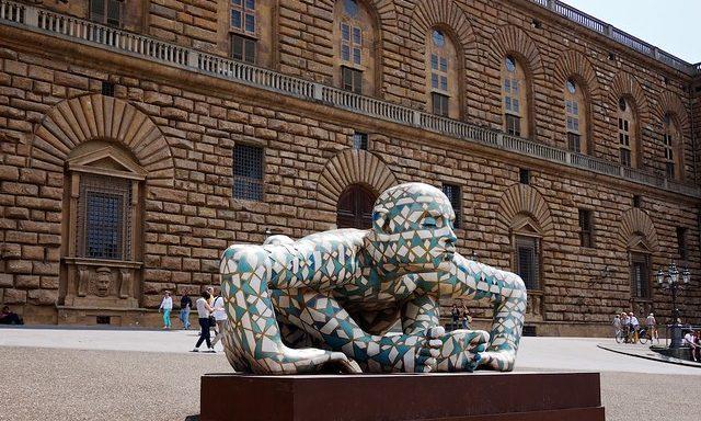 Скульптура у палаццо Питти