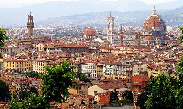Прекрасная панорама Флоренции