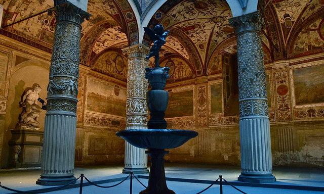 Интерьеры палаццо Веккьо