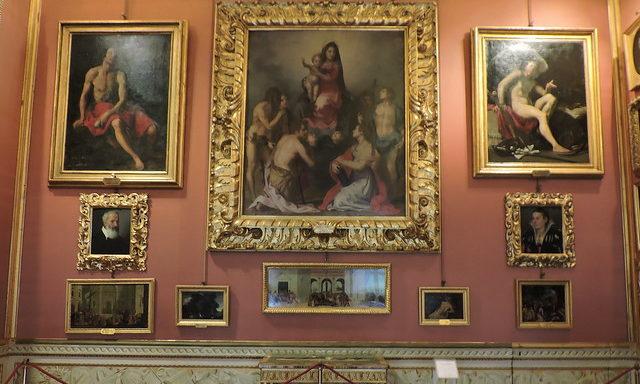 Один из залов галереи Палатина