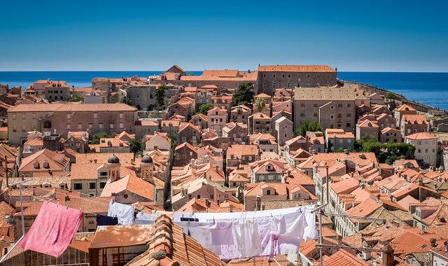 Красные крыши старого Дубровника