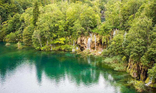 Красоты Национального парка Плитвицкие озера