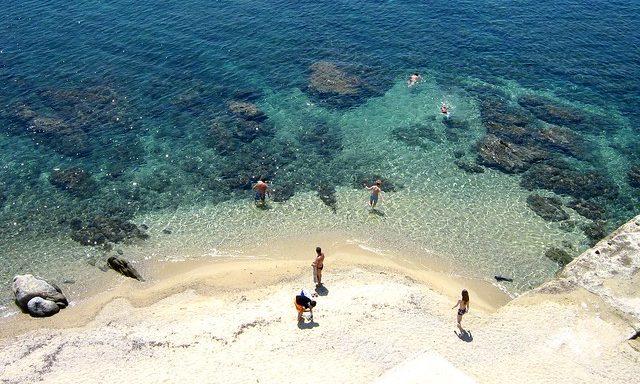 Пляж Уранополиса